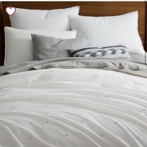 West Elm Duvet cover Queen/Full